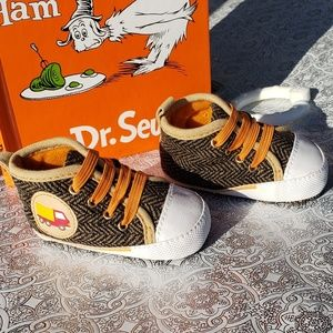 Stepping Stones Sz 3-6month Dump Truck Shoes Brown